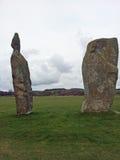 Stone circles, menhirs, megaliths, Royalty Free Stock Photo