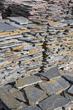 Stone cladding Stock Photos