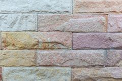 Stone Cladding wall stock images