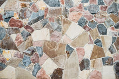 Stone Cladding wall background. Stock Photography