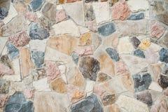 Stone Cladding wall background. stock photos