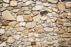Stone Cladding wall background. Royalty Free Stock Photos