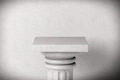Stone Classic Greek Column Royalty Free Stock Photo