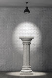 Stone Classic Greek Column Royalty Free Stock Photo