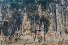 Stone cliff tecture Stock Photos
