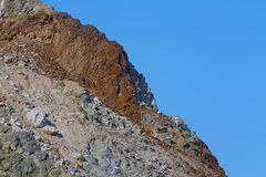 Stone cliff Royalty Free Stock Images