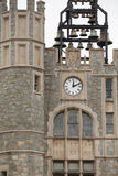 Stone Clock and Bell Tower Royalty Free Stock Photo