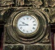 Stone Clock Stock Image