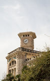 Stone Clock Tower in Nice Royalty Free Stock Photos