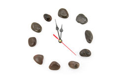 Stone clockface Stock Images