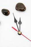 Stone clockface Stock Photo
