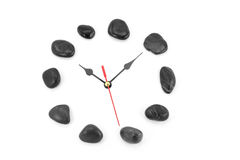 Stone clockface Royalty Free Stock Photography