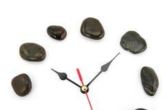 Stone clockface Royalty Free Stock Images