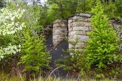 Stone coal bin Royalty Free Stock Images