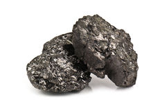 Stone coal Royalty Free Stock Images