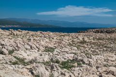 Free Stone Coast And Adriatic Sea Royalty Free Stock Images - 129557059