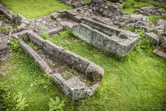 Stone Coffins Stock Images