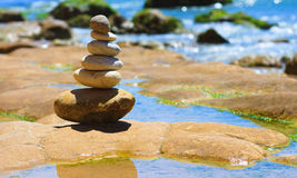 Stone collection Stock Photography