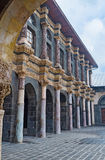 The stone colonnade Stock Photography