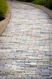 Stone Color Walkway Stock Image