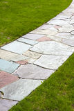 Stone Color Walkway Stock Photo