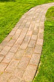 Stone Color Walkway Royalty Free Stock Images