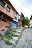 Stone colored blind area Plovdiv, Bulgaria Stock Photo