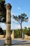 Stone columns Stock Photos
