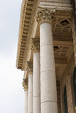 Stone Columns Royalty Free Stock Image