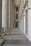 Stone columns in a judicial law building. Stone columns from a judicial law building royalty free stock photography