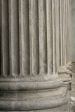 Stone columns from a judicial law building Royalty Free Stock Photos