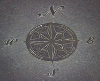 Stone Compass stock images