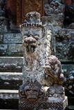 Stone composition in Monkey Forest Royalty Free Stock Images