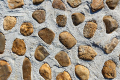Stone and concrete  for floor Stock Photography