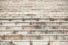 Stone or concrete stair Royalty Free Stock Images