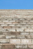 Stone or concrete stair Stock Images