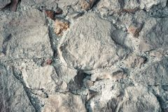 Stone concrete texture for background. A dirty not perfect old wall. Abstract motifs created naturally. Cracks in the wall, peeling paint material textured royalty free stock photos