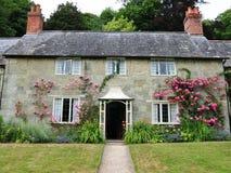 Stone Cottage. Idyllic English Countryside Stone Cottage House Stock Images