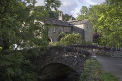 Kettlewell village, Yorkshire stock photo