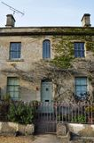 Stone Cottage Exterior. Architectural Detail of a Beautiful Old Stone Cottage Royalty Free Stock Photography