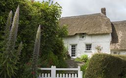 Stone cottage in Helford village, Cornwall, England Royalty Free Stock Photography
