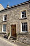 Stone Cottage Home. Exterior of an Idyllic Stone House Royalty Free Stock Photo
