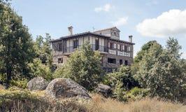 Stone cottage Stock Photography