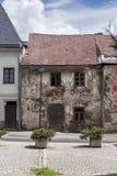 Stone Cottage Ruin in Trebon Stock Images
