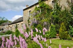 Stone Cottages Stock Photo