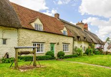 Stone cottages of Great Milton, Oxfordshire, England Royalty Free Stock Photo