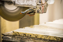 Stone Counter Top Fabrication Stock Photography