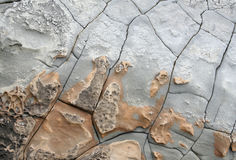 Stone with cracks Stock Photos