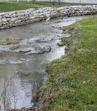 Stone creek. After a heavy rain Stock Image