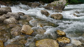 Stone Creek in the mountains of Abkhazia Royalty Free Stock Images
